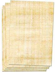 Forum Traiani - 25 hojas de papyrino impresas por ambos lados, papel Papyrus, rollo de papyrusa, material educativo