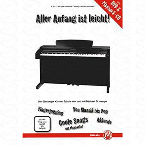 Todos los Principios de es fácil–Arreglados para Piano–con CD–con DVD [de la fragancia/Alemán] Compositor: Cuñado Michael