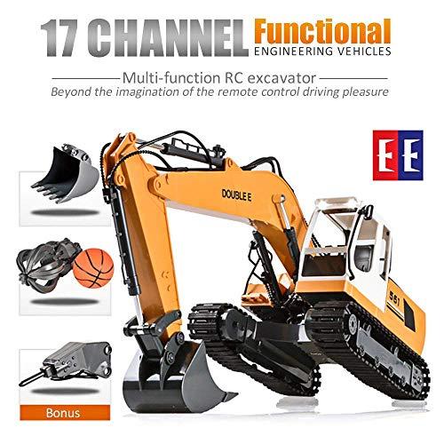 RC Baufahrzeug kaufen Baufahrzeug Bild 1: KEISL 3-in-1 Ingenieurmaschinen-Auto, RC Bagger, Fernbedienung, Traktor, Spielzeug, Baufahrzeuge*