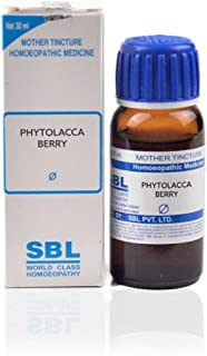 SBL Homeopathy Phytolacca Berry Mother Tincture Q (30 ML) by Qualityexport