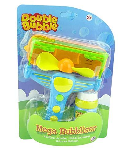 Double Bubble Mega Bubbliser - Bubble Gun - Bubble Toys - Juguetes para Exteriores