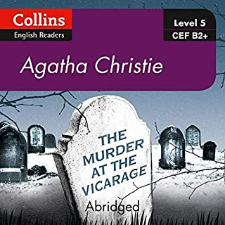 The Murder at the Vicarage     B2+ Collins Agatha Christie ELT Readers              著者:                                                                                                                                 Agatha Christie                               ナレーター:                                                                                                                                 Roger May                      再生時間: 3 時間  27 分     レビューはまだありません。     総合評価 0.0