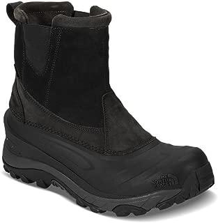 Chilkat III Pull-On Men Winter Boots TNF Black/Beluga Grey 12