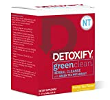 Detoxify – Green Clean Herbal Cleanse - Honey Tea Flavor – (2) x 4 oz Bottles – Professionally Formulated Professionally Herbal Detox Drink – Enhanced with Burdock Root Extract & Green Tea Metaboost