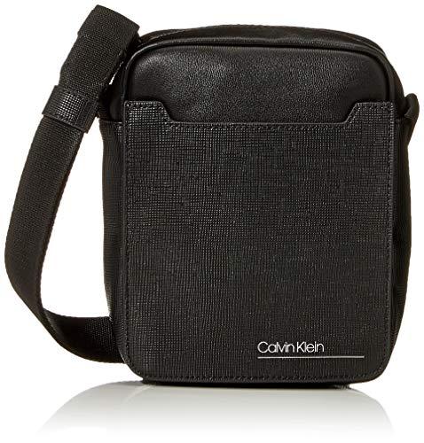 Calvin Klein Sliver Mix Mini Reporter - Borse organizer portatutto Uomo, Nero (Black), 0.1x0.1x0.1 cm (W x H L)