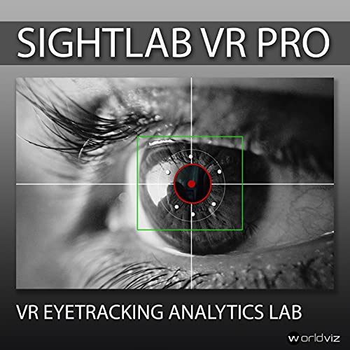 WorldViz SightLab VR Pro Eye Tracking Software for HTC Vive Pro Eye, HP Omnicept, StarVR One, Pupil Labs and more!