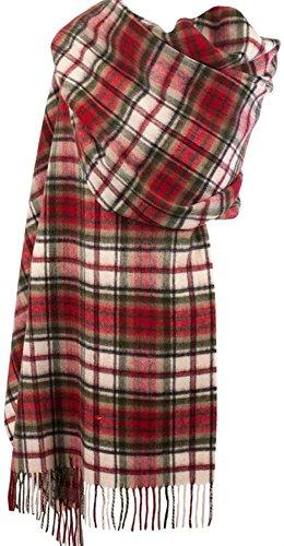 I Luv LTD Cashmere Stole In Macduff Dress Tartan Design 71cm Wide