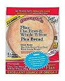 Joseph's Flax, Oat Bran and Whole Wheat Flour Pita Bread - Plus New Ridiculously Delicious Pita...