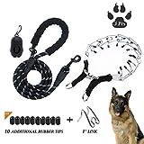 D-buy Dog Training Set-Stainless Steel Dog Prong CollarDog