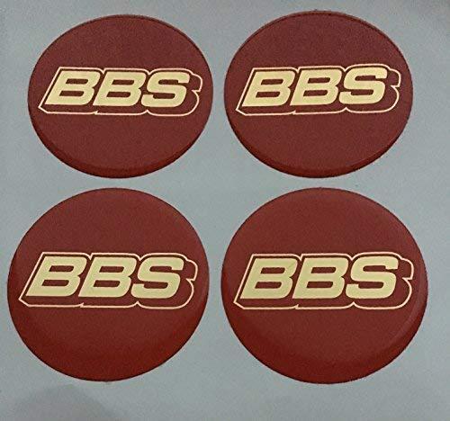 BBS ★4 Stück★ Aufkleber Emblem für Felgen Nabendeckel Radkappen 70mm