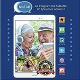 MaTAB - L'application tablette idéal pour les seniors. Très simple d'utilisation en 6 boutons principaux. Mais aussi très évolutif! L'interface de la page d'accueil est surprenante par sa simplicité!