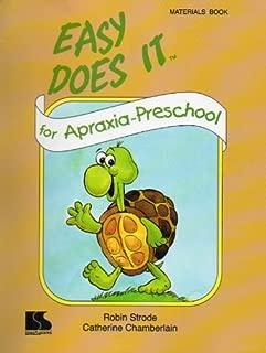 Easy Does It for Apraxia Preschool Materials Book