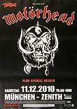 Motörhead - Lemmy, München 2010 » Konzertplakat/Premium