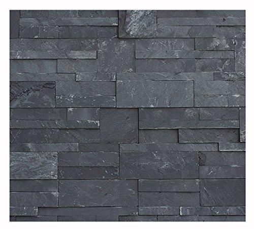 1 Muster W-011 Schiefer Wand-Design Verblender Wandverkleidung Steinwand Naturstein Fliesen Lager Verkauf Stein-Mosaik Herne NRW