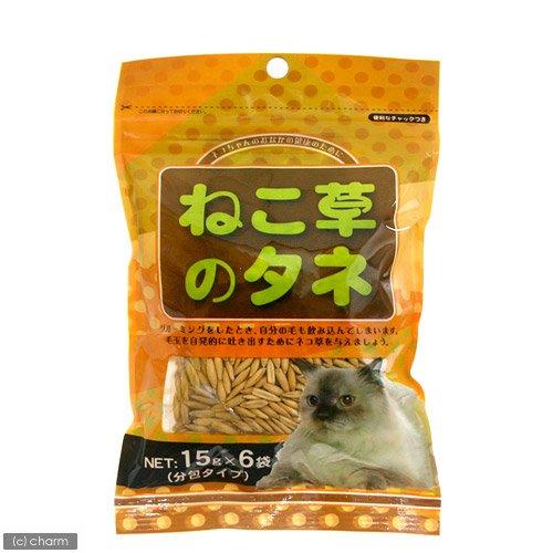 アラタ 猫の草のたね分包タイプ 15gX6袋入