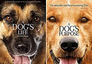 The Ultimate Double Dog Dare You Dog 5 Feature Film DVD bundle: A Dog's Life Collection (Cool Dog/ Finding Rain Tin Tin/ S...