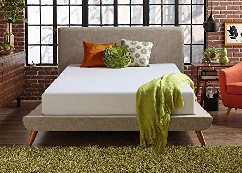 Live and Sleep Classic 12 Inch Plush Memory Foam Mattress -...