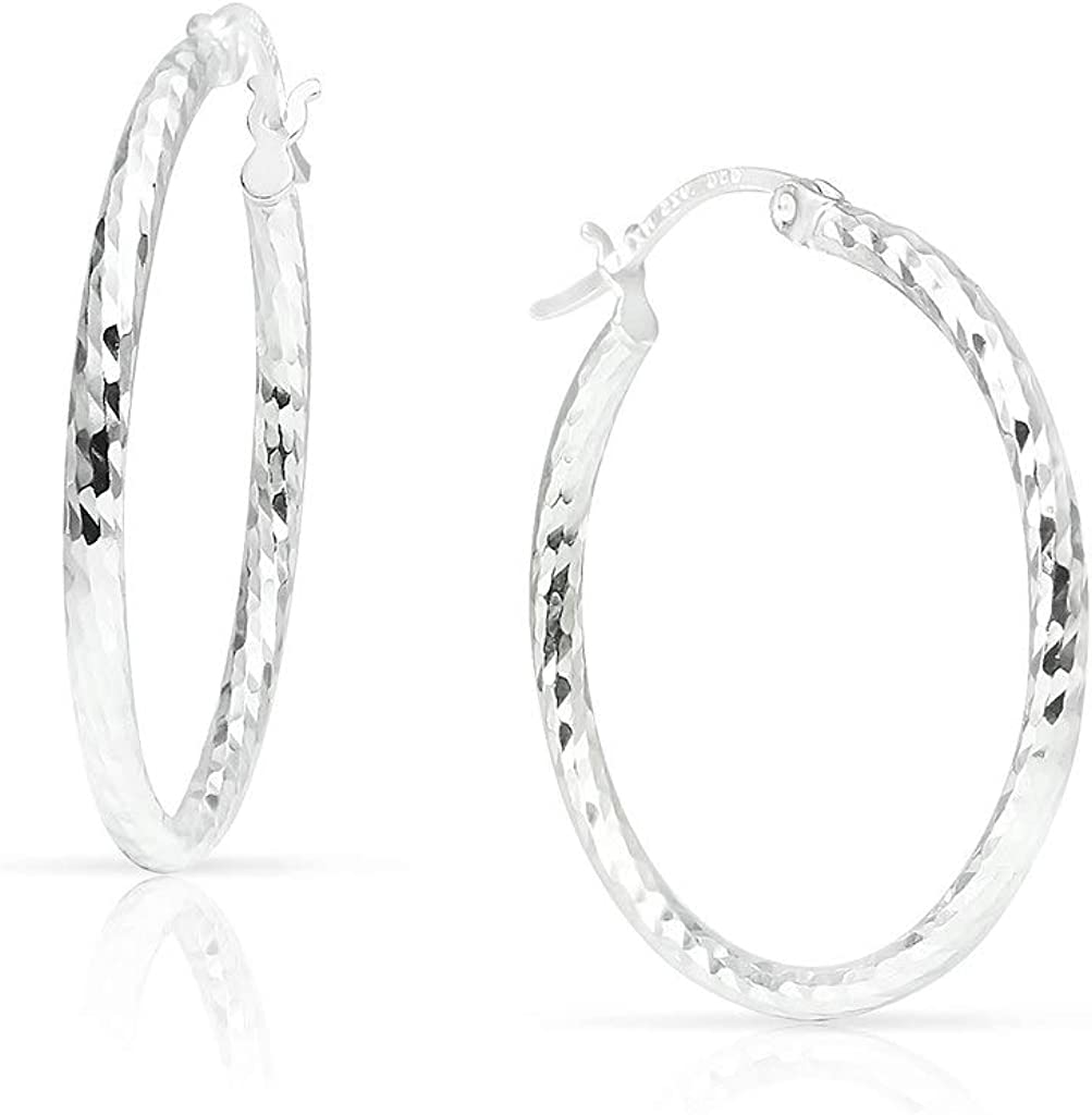 SOLIDSILVER- Sterling Silver Lightweigh Click 55% OFF High Polished Top Now on sale