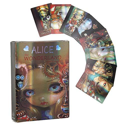 Baraja de cartas de tarot, 45 cartas de tarot, juego de predicción del futuro con caja colorida, baraja de cartas de tarot original, juego de cartas de tarot para principiantes y lectores expertos