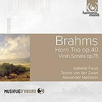 Brahms: Horn Trio Op.40, Violin Sonata Op.78, Fantasies Op.116 by Teunis van der Zwart (2016-01-23)