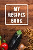 My recipes book: To jot down recipes for own binder/slow cooker easy/kitchenaid/uk 2021