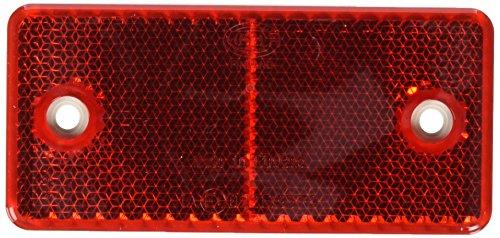 HELLA 8RA 003 326-002 Rückstrahler - rot - geschraubt