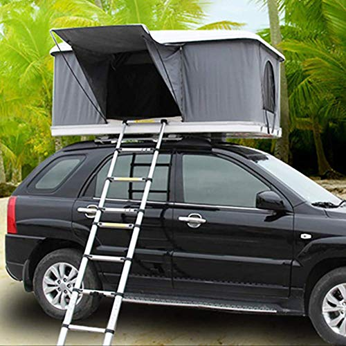 2-3 People Car Roof Tent Automotive Rooftop Tent With Folding Ladder