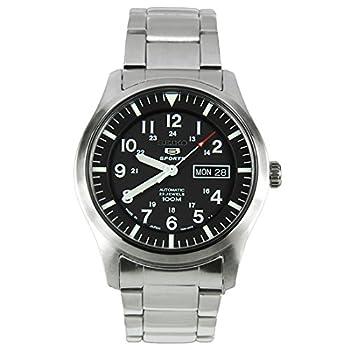 SEIKO Men s self-Winding Watch Made in Japan Black SNZG13J1