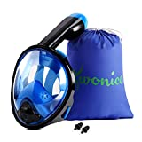WONICE Snorkel Mask Full Face for Adults and...