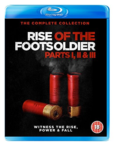 Rise Of The Footsoldier 1-3 [3xBlu-Ray] (Keine deutsche Version)
