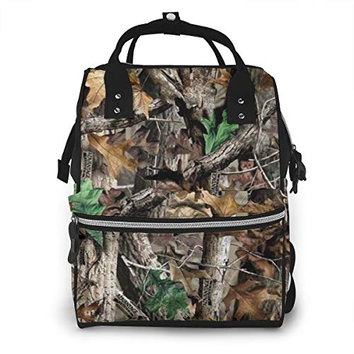 Free Realtree Camo Diaper Bag Fashion Waterproof Multi-Function Travel Backpack Large Nappy Bags Mummy Backpack for Baby Care