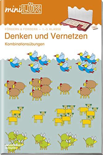 miniLÜK-Übungshefte: miniLÜK: 1./2./3. Klasse - Fördern & Fordern: Denken und Vernetzen: Fördern und Fordern / 1./2./3. Klasse - Fördern & Fordern: ... (miniLÜK-Übungshefte: Fördern und Fordern)