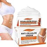 CrèMe Anti-Cellulite, BrûLure de Graisse du Ventre Crème Raffermissante pour Brûler les Graisses, la Perte de Poids CrèMe Amincissante pour la Taille, L'abdomen et les Fesses