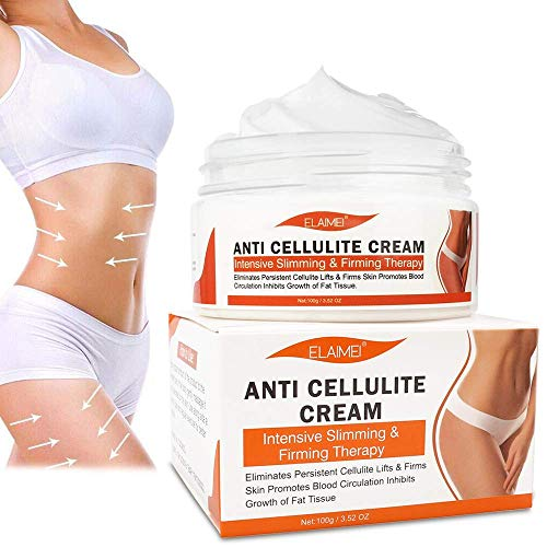 Hot Cream, Cellulite Removal Cream, Body Fat Burning Slimming Firming Cream, Anti Cellulite Weight Loss Cream for Shaping Waist, Abdomen and Buttocks