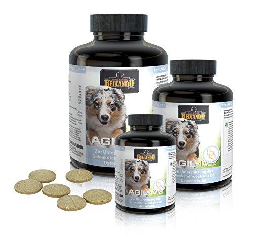 Belcando AGIL-Tabs [225 STK.] | Gelenkunterstützung für den Hund | Nahrungsergänzung für Hunde