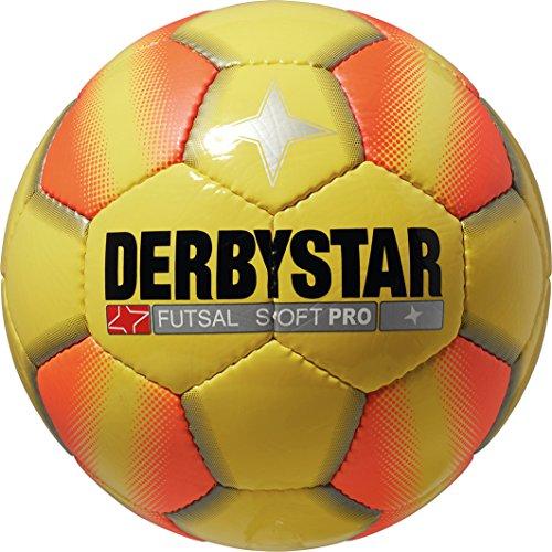 Derbystar Futsal Soft Pro, 4, gelb orange, 1085400570