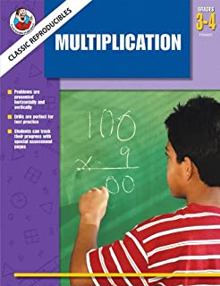 Classic Reproducibles Following Directions (Multiplication)(Frank Schaffer Classic Reproducibles)