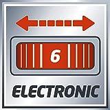 Einhell Oberfräse TE-RO 1255 E (1200 W, Spannzange Ø 6 und 8 mm, 55 mm Hubhöhe, elektronische Drehzahlregulierung, Spindelarretierung, einfacher Werkzeugwechsel) - 13