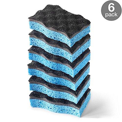 O-Cedar Heavy Duty Scrunge Scrub Sponge (Pack of 6)