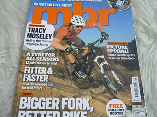 MBR Mountain bike rider magazine april 2011