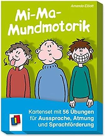 iaundotorik Kartenset it 50 Übungen für Aussprache Atung und Sprachförderung by Amanda Elliott