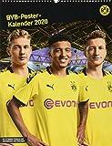 Borussia Dortmund Posterkalender. Wandkalender 2020. Monatskalendarium. Spiralbindung. Format 34 x 44 cm