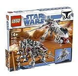 LEGO Star Wars - Republic Dropship con AT-OT Walker, Juguete de Construcción con Vehículos Basados en la Saga de la Guerra de las Galaxias (10195)