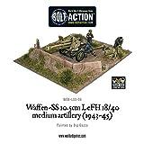Waffen SS Warlord Games Miniaturen 2. Weltkrieg Geschütz