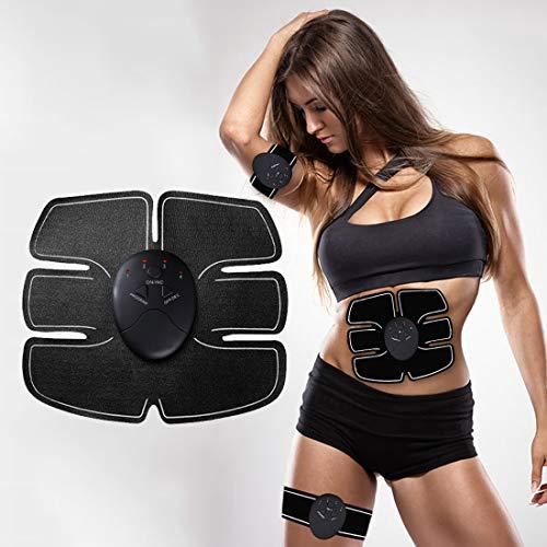Générique Electrostimulateur Musculaire,Ceinture Abdominale Electrostimulation EMS Femme Homme pour Abdomen/Bras/Jambes/Fesses Formation,Perte de Poids Rapide