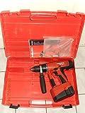 Hilti UH 240. Taladro/atornillador a batería con 3 marchas, portabrocas de 13mm, testeado,...