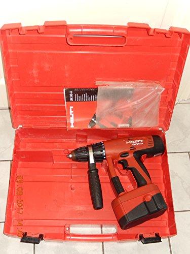 Hilti UH 240. Taladro/atornillador a batería con 3 marchas, portabrocas de 13mm, testeado, completamente funcional con batería de rendimiento y manual (idioma español no garantizado) en estuche original Hilti