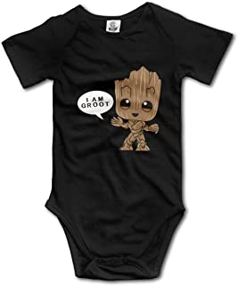 Sexcesal Baby Boys Girls Unisex Romper Bodysuit G-Root Infant Kawaii Jumpsuit Outfit 0-2T Kids