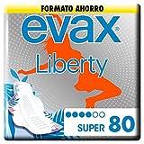 Evax Liberty Super, Alas x 80 Unidades Una Compresa Que No Notarás