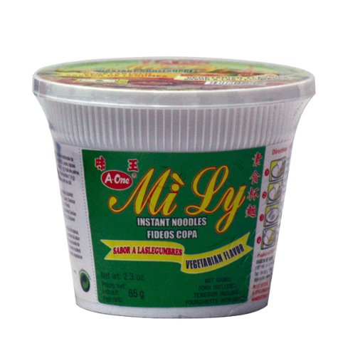 Mi Ly A-One Instant Cup-Nudeln 65g, Vegetarisch